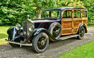 1928 1929 Rolls Royce 20/25 Shooting Brake By Henry Binder For Sale