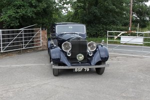 Picture of 1937 Rolls Royce 25/30 H J Mulliner - Concours Winner For Sale