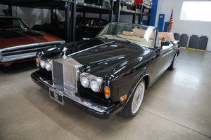 1986 Rolls Royce Corniche II with 62K miles. Few finer For Sale