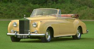 1961 Rolls Royce Silver Cloud 2 four door convertible Adapta For Sale