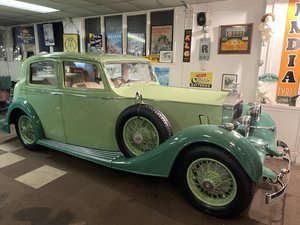 1937 ROLLS ROYCE 25/30 SPORTS SALOON by THRUPP and MABERLY