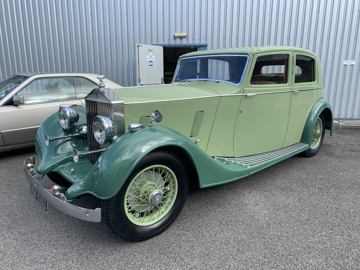 1937 ROLLS ROYCE 25/30 SPORTS SALOON by THRUPP and MABERLY For Sale (picture 1 of 6)