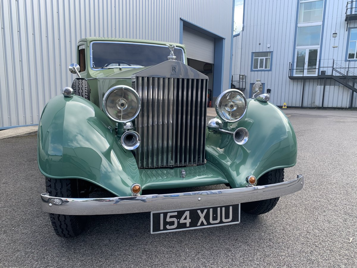 1937 ROLLS ROYCE 25/30 SPORTS SALOON by THRUPP and MABERLY For Sale (picture 2 of 6)