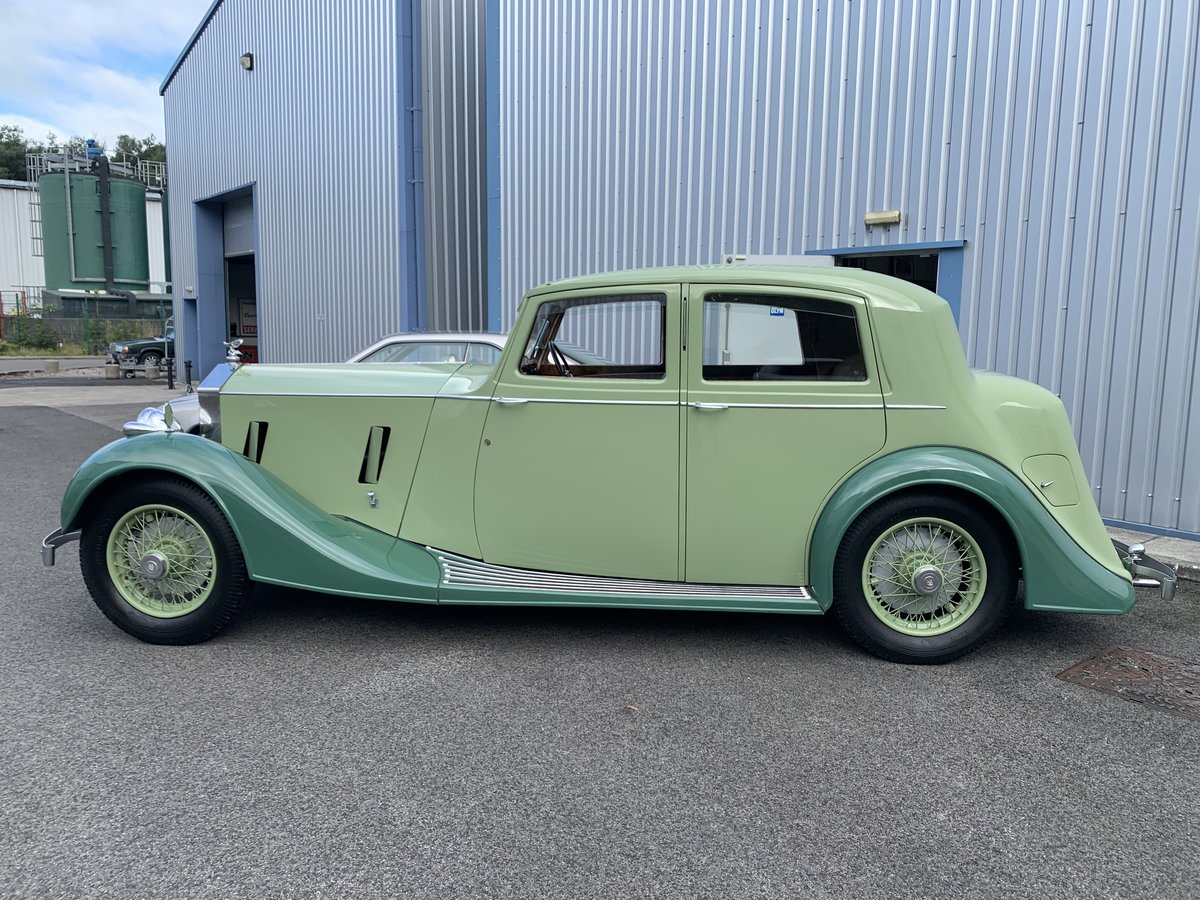 1937 ROLLS ROYCE 25/30 SPORTS SALOON by THRUPP and MABERLY For Sale (picture 3 of 6)