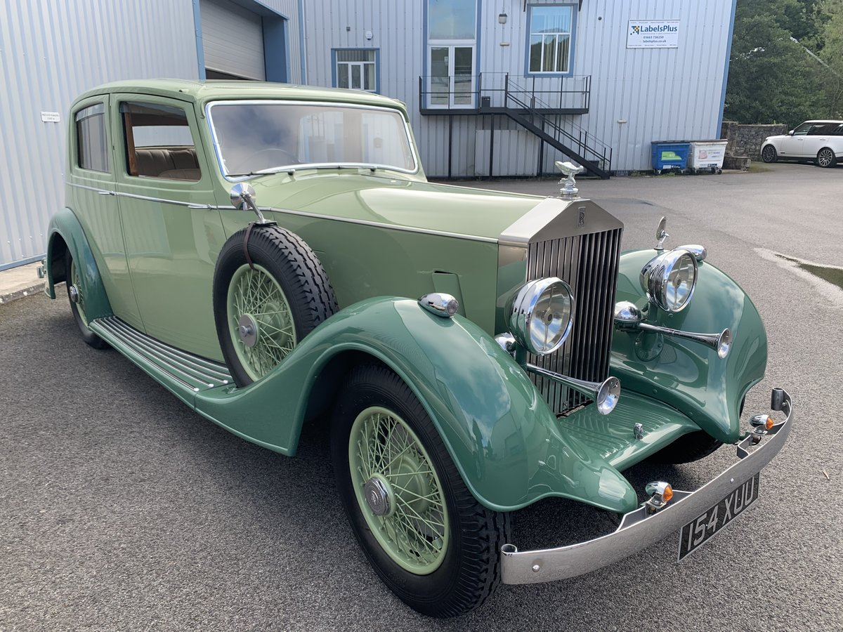 1937 ROLLS ROYCE 25/30 SPORTS SALOON by THRUPP and MABERLY For Sale (picture 4 of 6)
