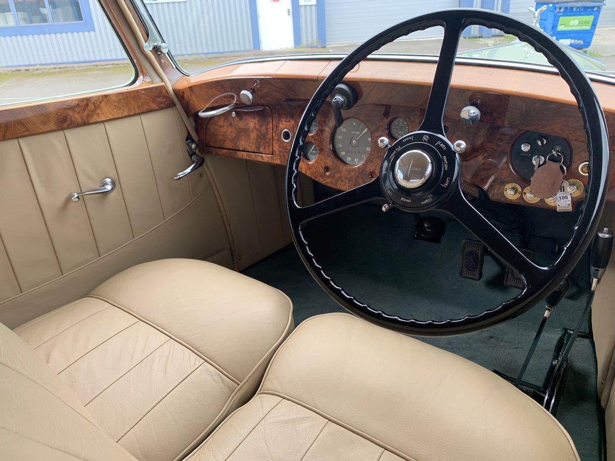 1937 ROLLS ROYCE 25/30 SPORTS SALOON by THRUPP and MABERLY For Sale (picture 5 of 6)