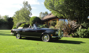 1972  ROLLS-ROYCE CORNICHE CONVERTIBLE For Sale by Auction
