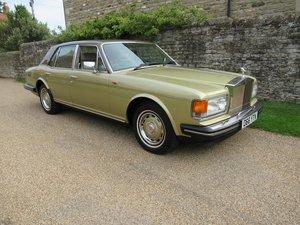 1986 Rolls-Royce Silver Spirit 59,878 miles