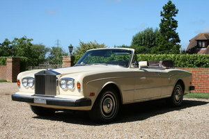 1984 Rolls-Royce Corniche Drophead Coupe  For Sale by Auction