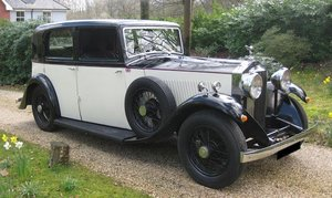 1933 Rolls-Royce 20/25 Sports Saloon For Sale by Auction