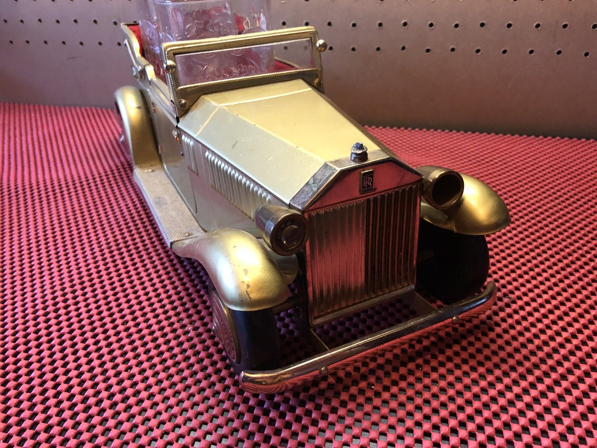 1930s Rolls Royce Glass Holder For Sale (picture 3 of 4)