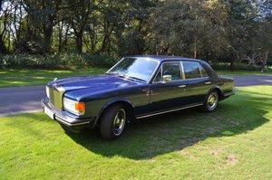 1985 Rolls-Royce Silver Spirit Royal Blue 65,000 Miles