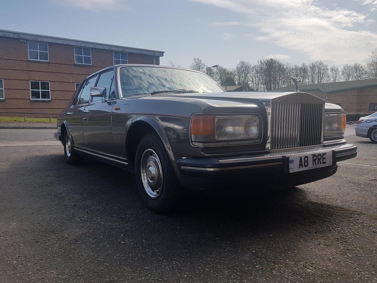 1986 Rolls Royce Silver Spirit For Sale (picture 1 of 6)