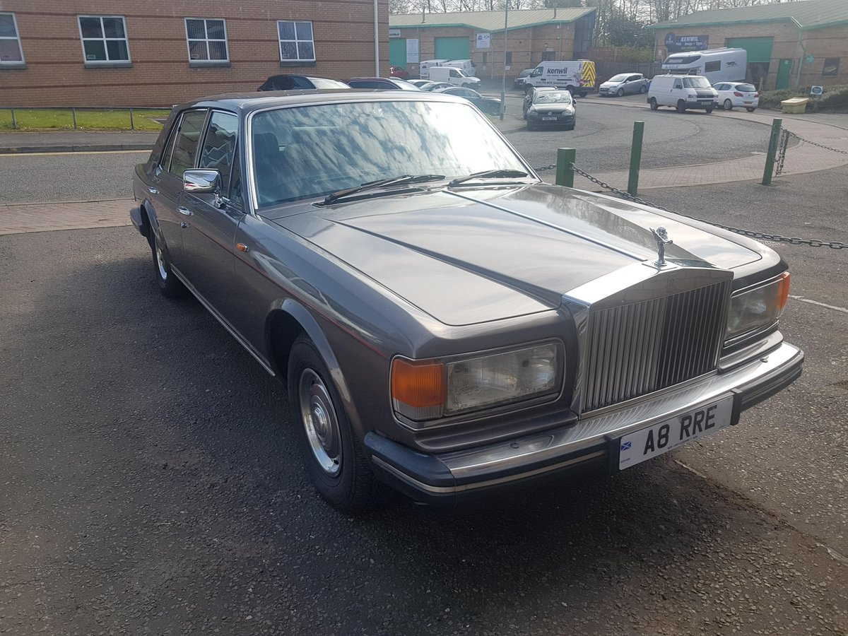 1986 Rolls Royce Silver Spirit For Sale (picture 2 of 6)