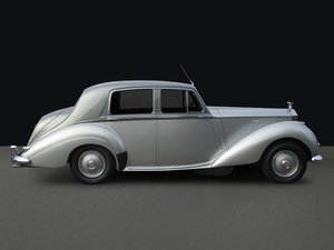 1955 Rolls-Royce Silver Dawn Saloon (Left Hand Drive) For Sale
