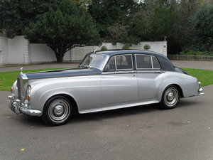 1961 Rolls-Royce Silver Cloud II Saloon (Left Hand Drive) For Sale