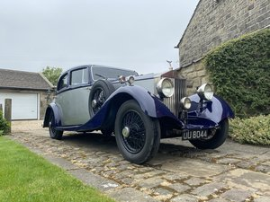 1929 Rolls-Royce 20Hp Parkward Sports Saloon