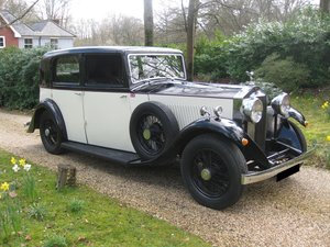 1933 Rolls-Royce 20/25 Sports Saloon By Barker