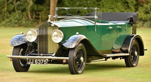 1933 Rolls Royce 20/25 Tourer.