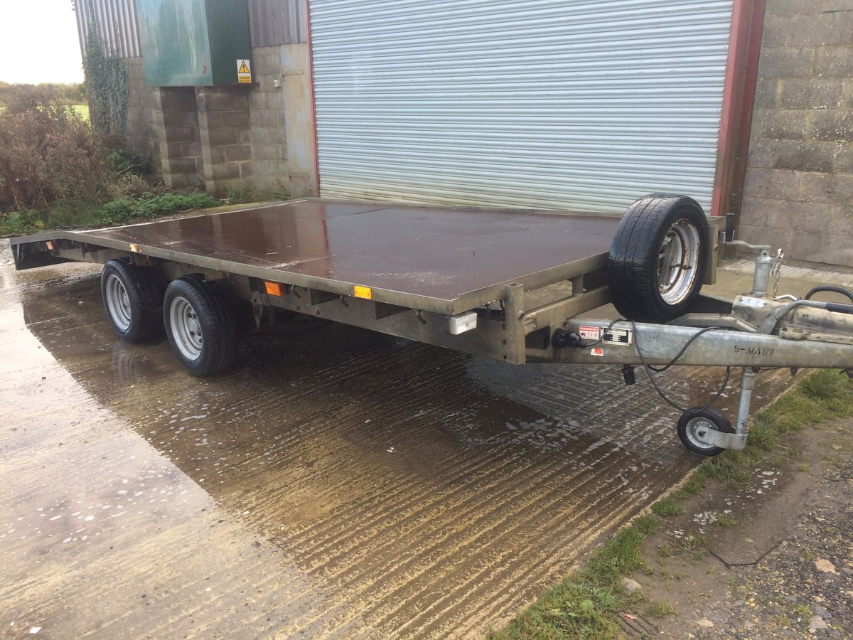 2008 ifor williams bevertail trailer For Sale (picture 1 of 6)