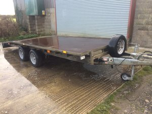 Picture of 2008 ifor williams bevertail trailer