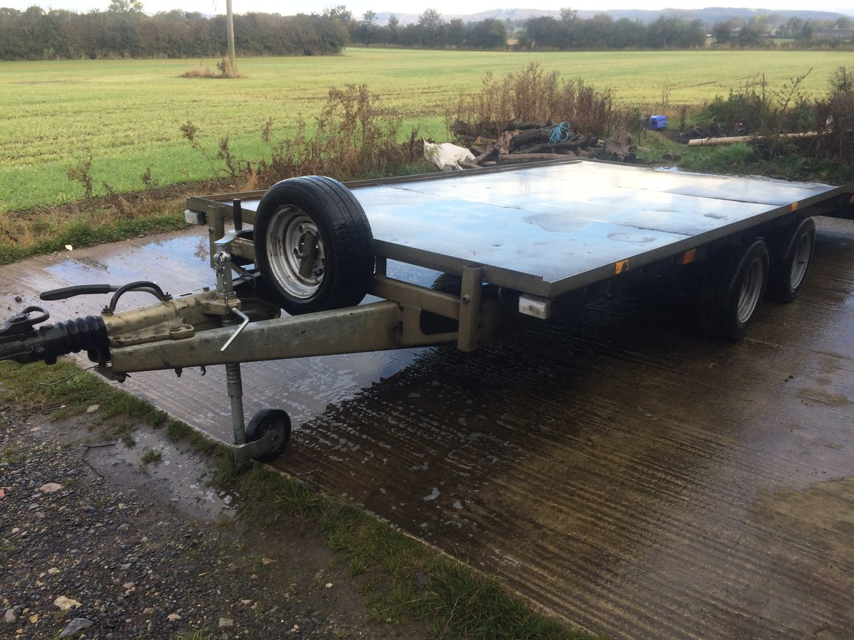 2008 ifor williams bevertail trailer For Sale (picture 2 of 6)