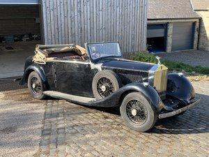 Rolls Royce 25/30 Barker Sedanca De Ville