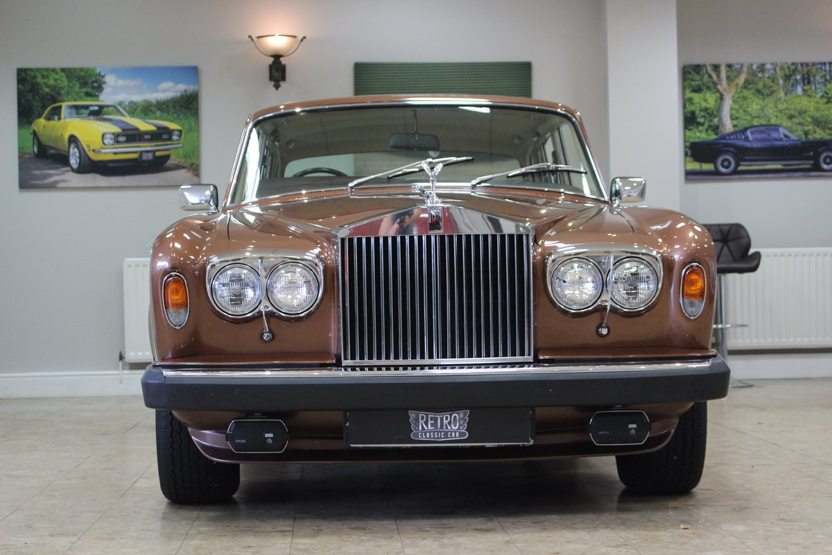 1980 Rolls Royce Silver Shadow II   52,000 Miles & FSH For Sale (picture 2 of 10)