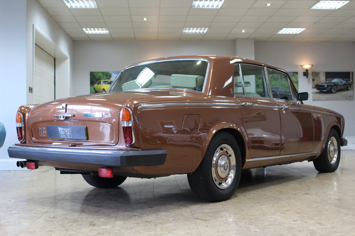 1980 Rolls Royce Silver Shadow II   52,000 Miles & FSH For Sale (picture 3 of 10)