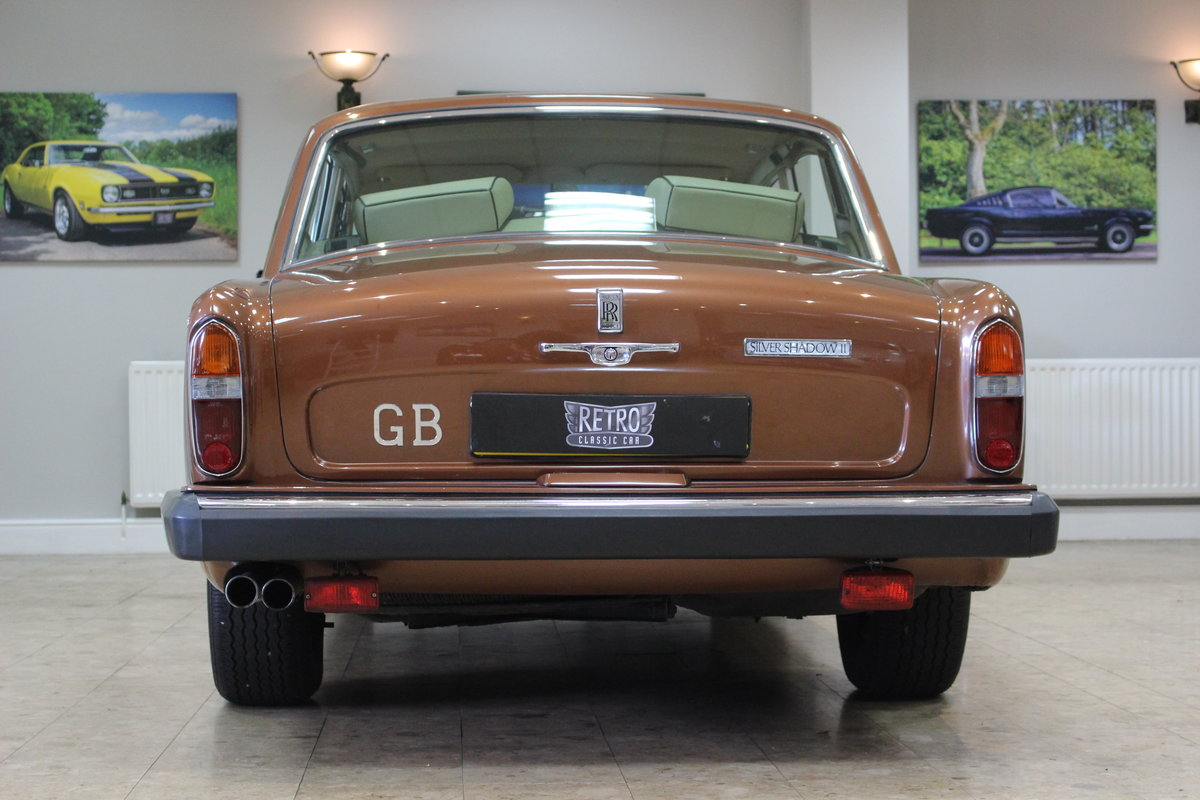 1980 Rolls Royce Silver Shadow II   52,000 Miles & FSH For Sale (picture 4 of 10)