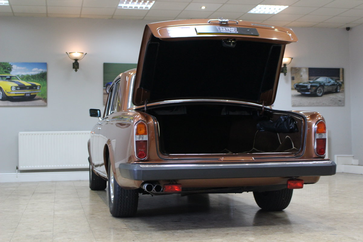 1980 Rolls Royce Silver Shadow II   52,000 Miles & FSH For Sale (picture 5 of 10)