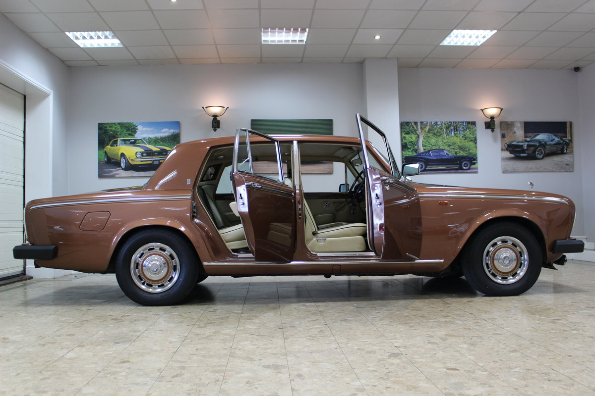 1980 Rolls Royce Silver Shadow II   52,000 Miles & FSH For Sale (picture 7 of 10)