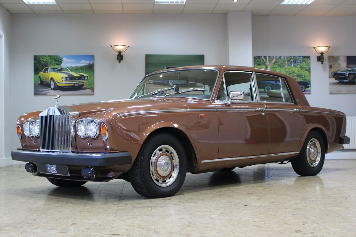 1980 Rolls Royce Silver Shadow II   52,000 Miles & FSH For Sale (picture 1 of 10)