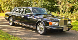 1998 ROLLS ROYCE SILVER SPUR TOURING LIMOUSINE LHD WITH DIVI