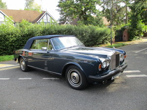 Picture of ROLLS ROYCE CORNICHE CONVERTIBLE 1982 Y REG  STUNNING For Sale