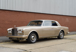 Rolls-Royce Corniche Fixed Head Coupe (RHD)