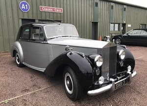 Picture of 1954 RR Silver Dawn. Show Condition.