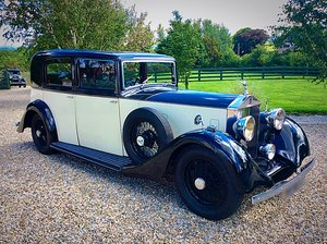 Picture of 1935 ROLLS ROYCE 20/25 SWEPT TAIL SPORTS SALOON BY BARKER - PX For Sale