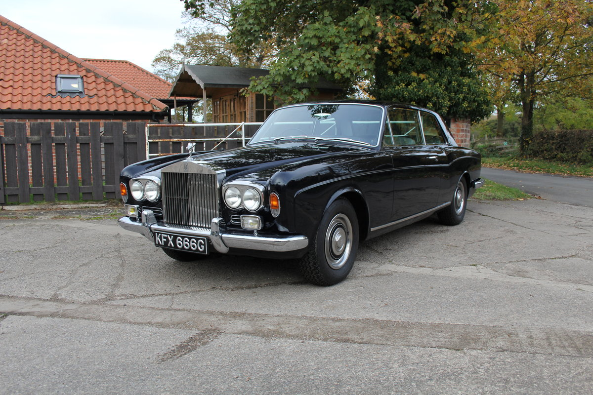 1968 Rolls Royce Mulliner Park Ward Coupe, Truly Exceptional For Sale (picture 3 of 19)