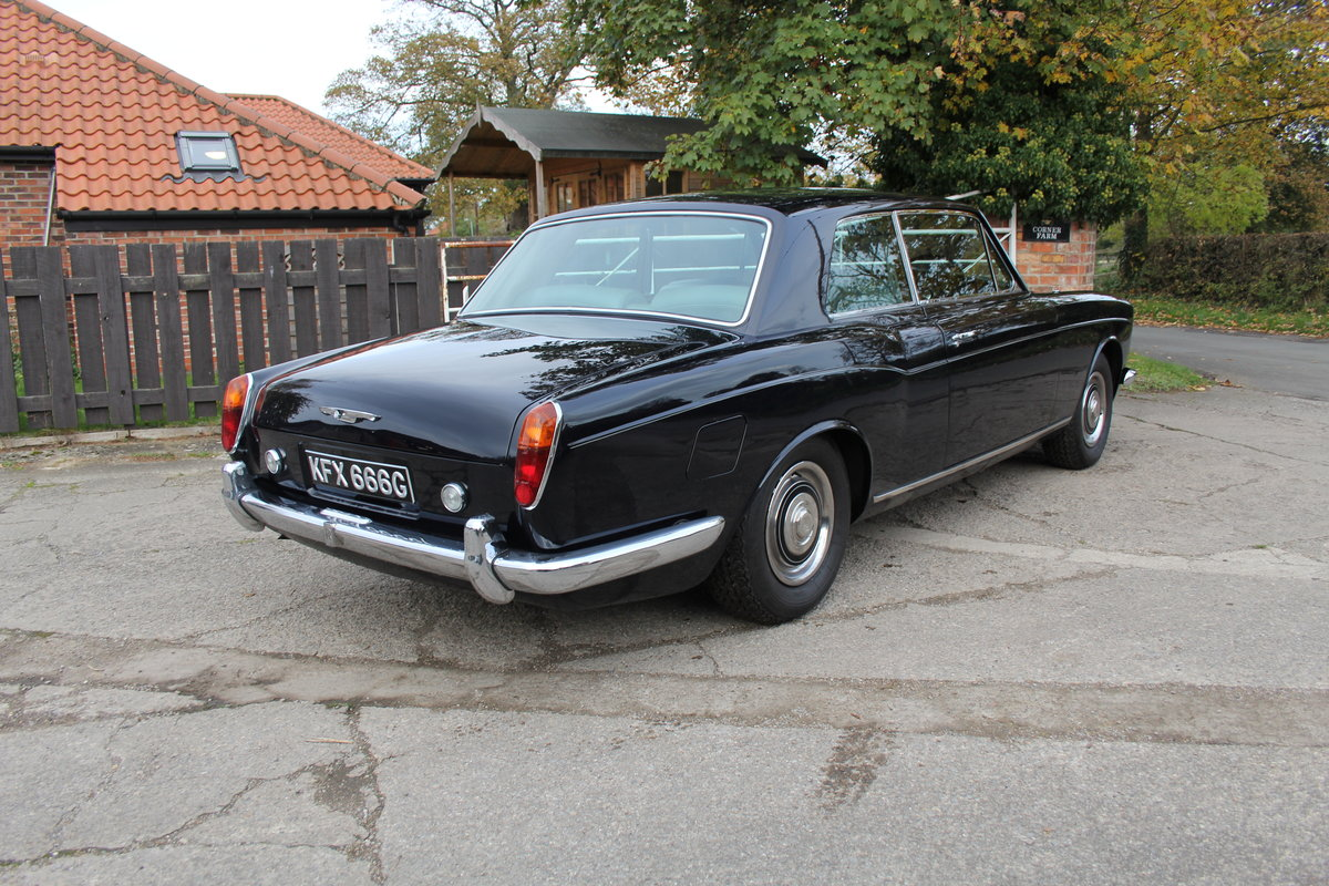 1968 Rolls Royce Mulliner Park Ward Coupe, Truly Exceptional For Sale (picture 6 of 19)