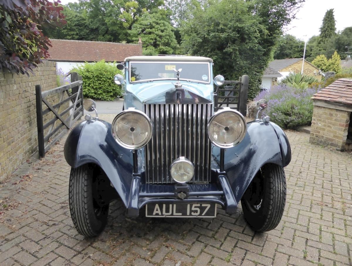 Rolls-Royce 1933 20/25 Gurney Nutting Owen Sedanca For Sale (picture 1 of 6)