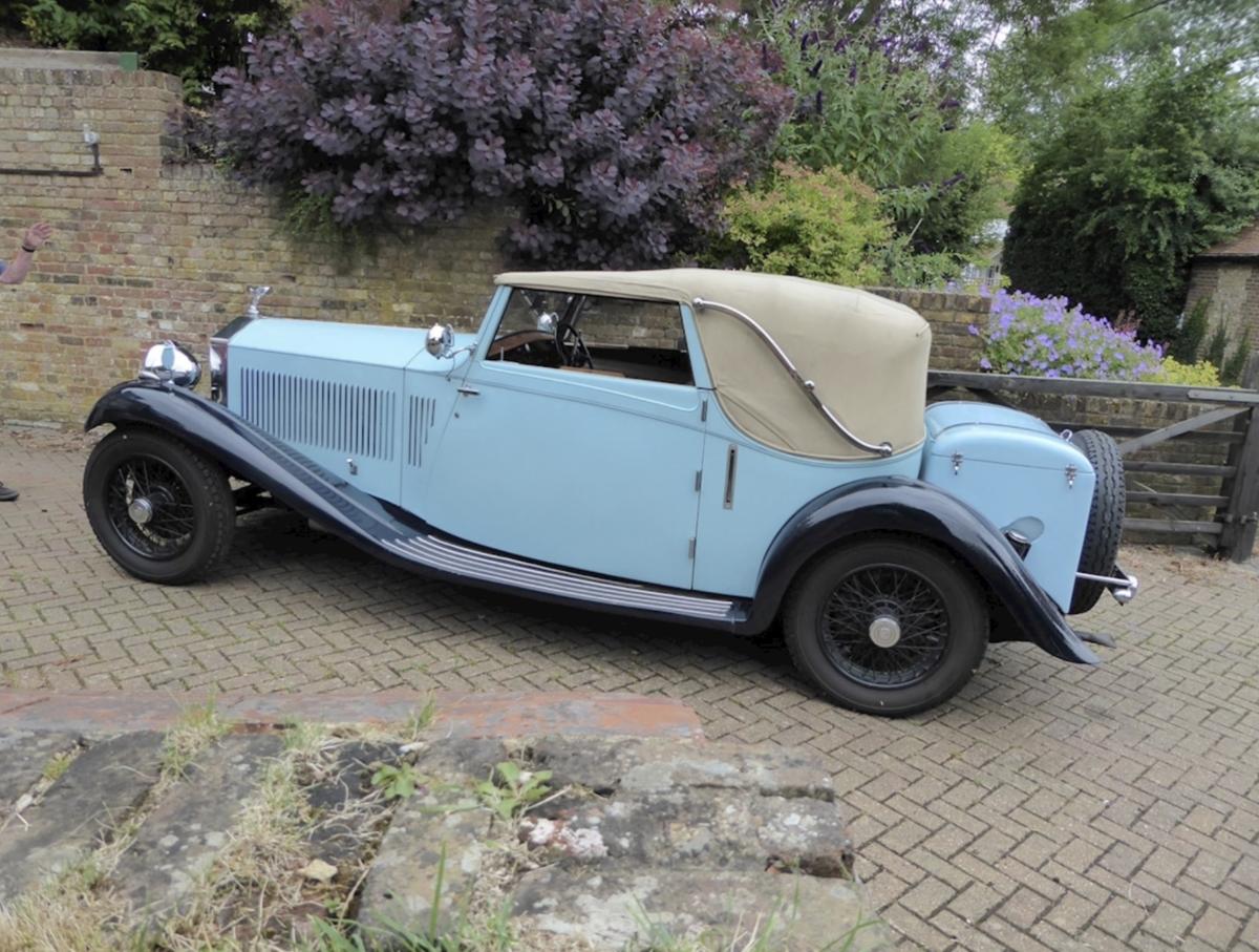 Rolls-Royce 1933 20/25 Gurney Nutting Owen Sedanca For Sale (picture 2 of 6)