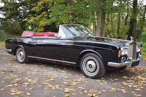 Picture of 1973 L Rolls Royce Corniche Convertible in Masons Black