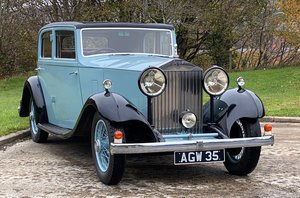 1933 Rolls-Royce 20/25 Thrupp & Maberly Sports Saloon GW