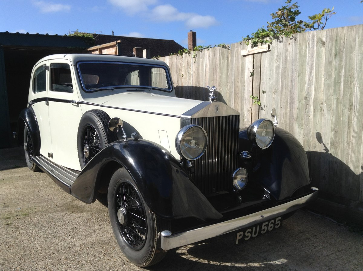 1936 Rolls Royce 25/30 Limo with glass division For Sale (picture 1 of 6)