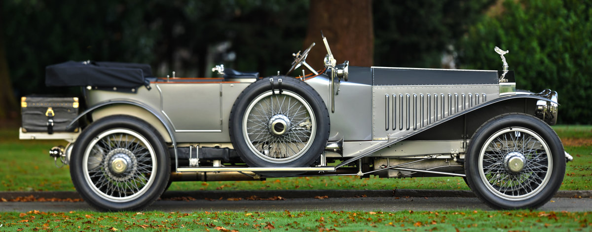 1913 ROLLS-ROYCE SILVER GHOST COLONIAL LONDON EDINBURGH OPEN For Sale (picture 1 of 6)