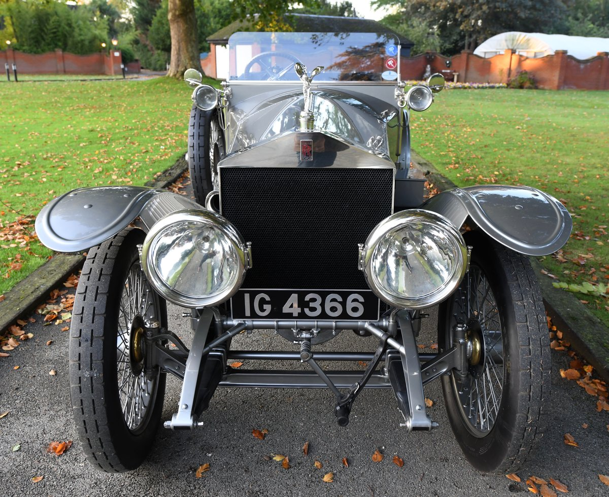 1913 ROLLS-ROYCE SILVER GHOST COLONIAL LONDON EDINBURGH OPEN For Sale (picture 2 of 6)