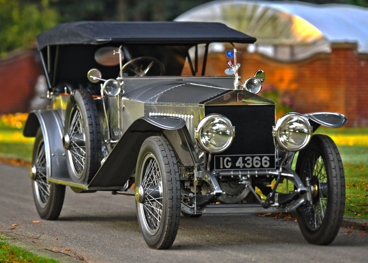 1913 ROLLS-ROYCE SILVER GHOST COLONIAL LONDON EDINBURGH OPEN For Sale (picture 3 of 6)