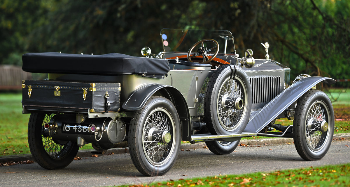 1913 ROLLS-ROYCE SILVER GHOST COLONIAL LONDON EDINBURGH OPEN For Sale (picture 4 of 6)