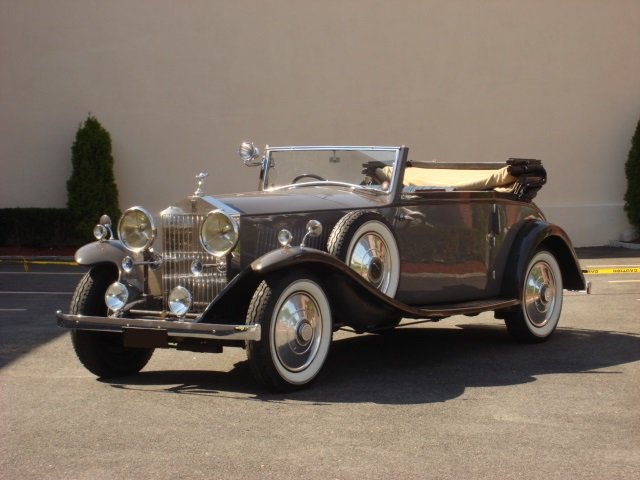1933 Rolls Royce 20/25 Drophead Coupe by James Young For Sale (picture 1 of 6)